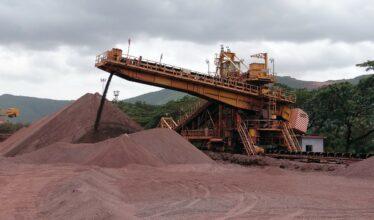Beneficiamento do minério