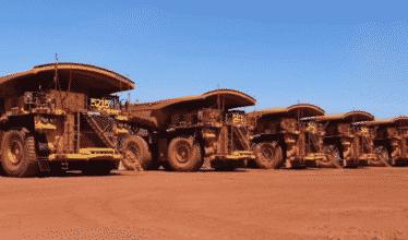 Mineradora – caminhões – Komatsu